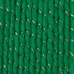 Bernat Happy Holiday Yarn,Glittery Green