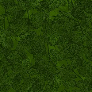 AUTUMN REVERIE, DARK OLIVE TONAL , BY CLOTHWORKS